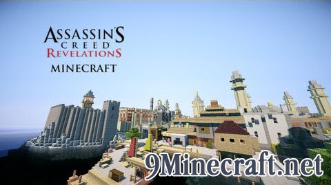 Assassin's Creed Revelations Constantinople Map Thumbnail
