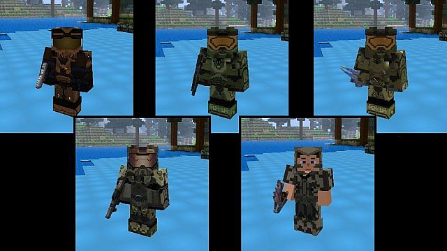 Minecraft Halo Texture Pack