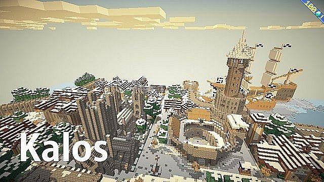 Minecraft Kalos Texture Pack [1.4.4/1.4.2]