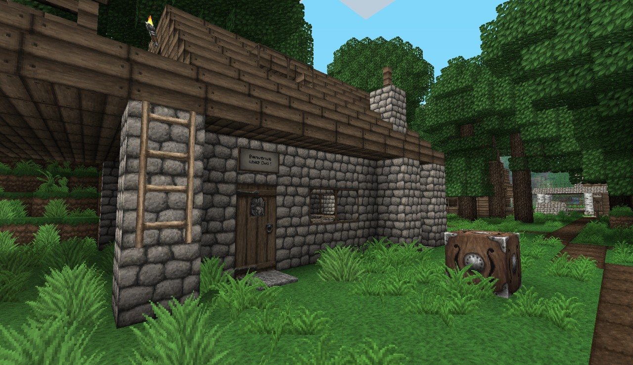 Ovo's Rustic Texture Pack | Minecraft Texture Packs | 9Minecraft: www.9minecraft.net/ovos-rustic-texture-pack