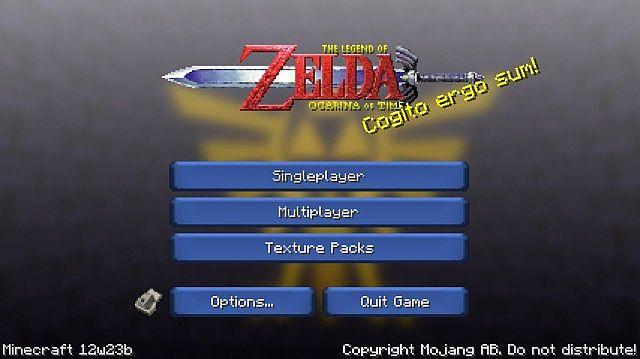 Zelda – Ocarina of Time Texture Pack [1.3.2]